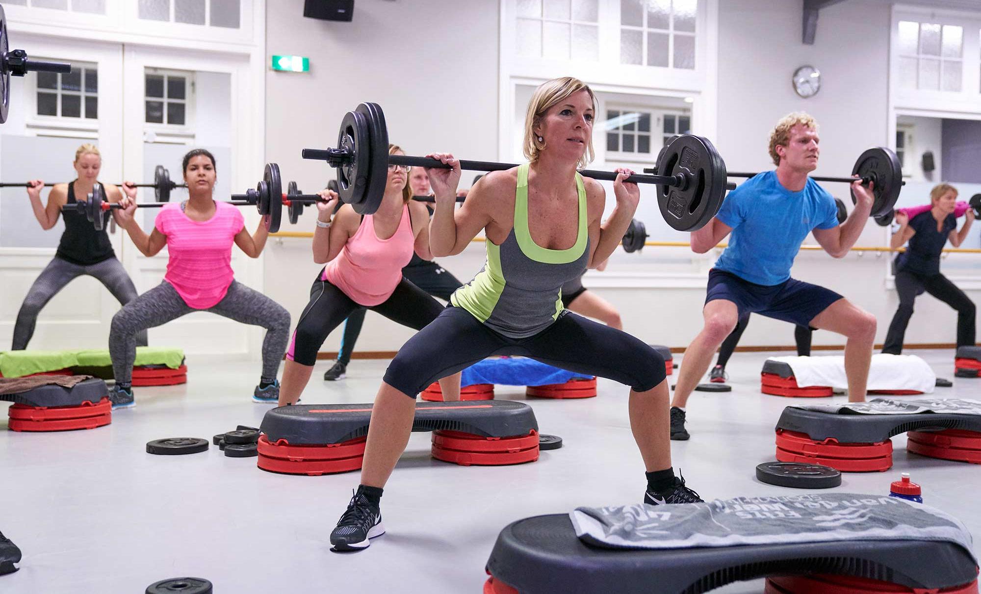 Groepstrainingen en fitness in Hoorn Sportinstituut Frits van der Werff