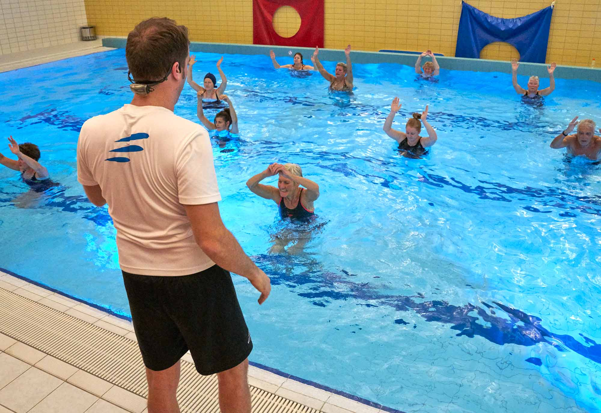 Afbeelding van abc-zwemlessen instructeur in Hoorn Aqua Fit Sportinstituut Frits van der Werff Hoorn
