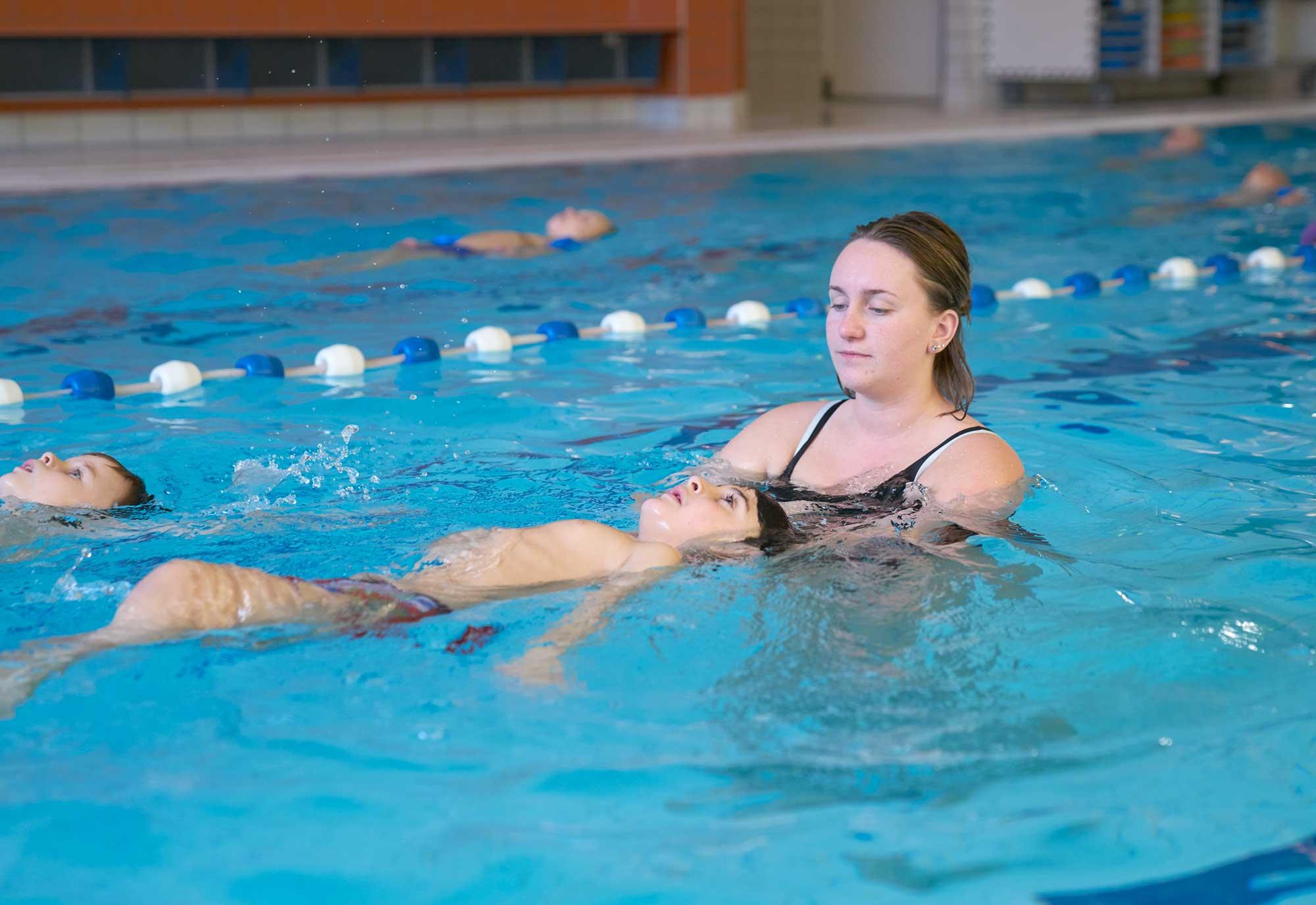 ouder-kind zwemmen in Hoorn