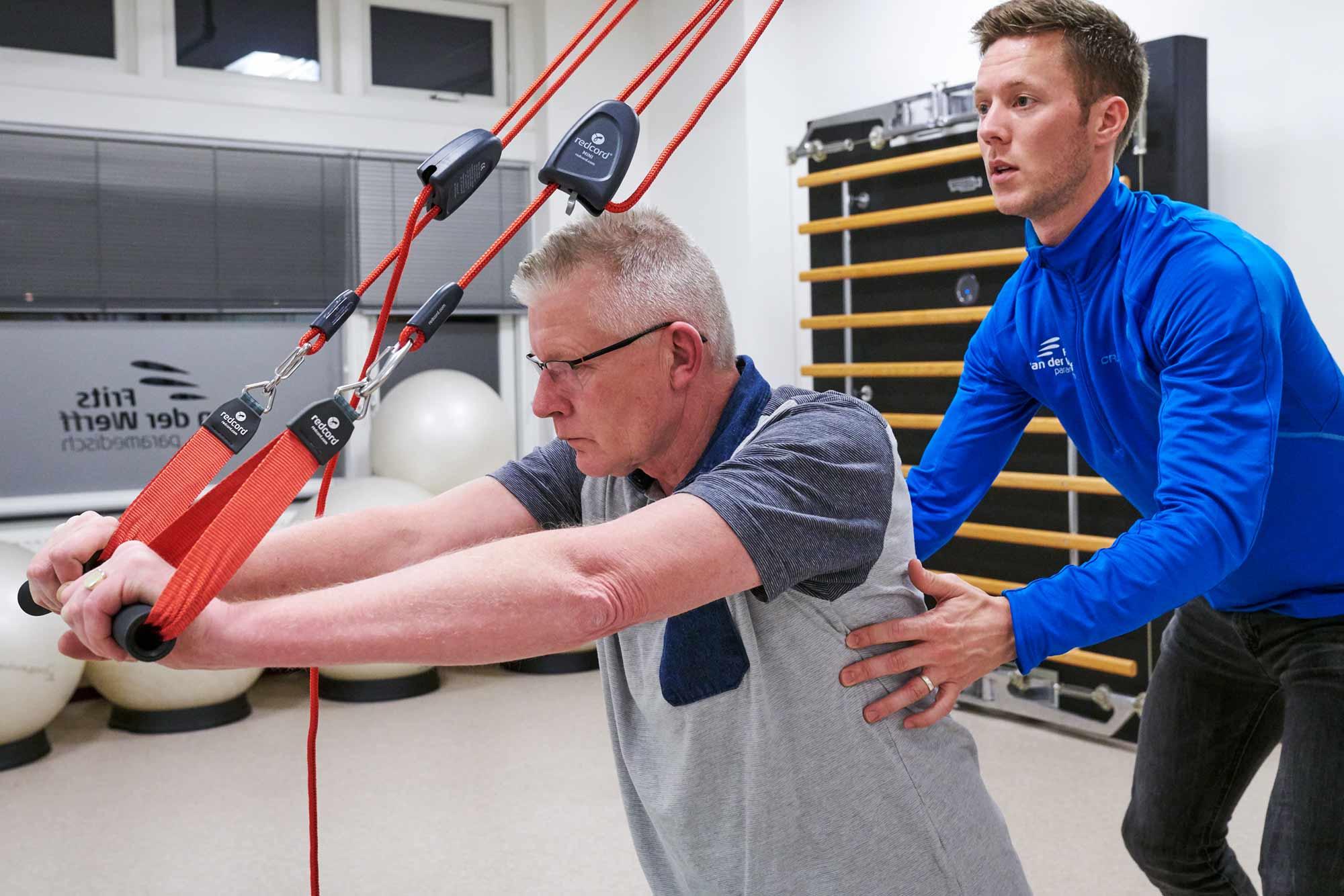 Frits van der Werff Inloopspreekuur fysiotherapie