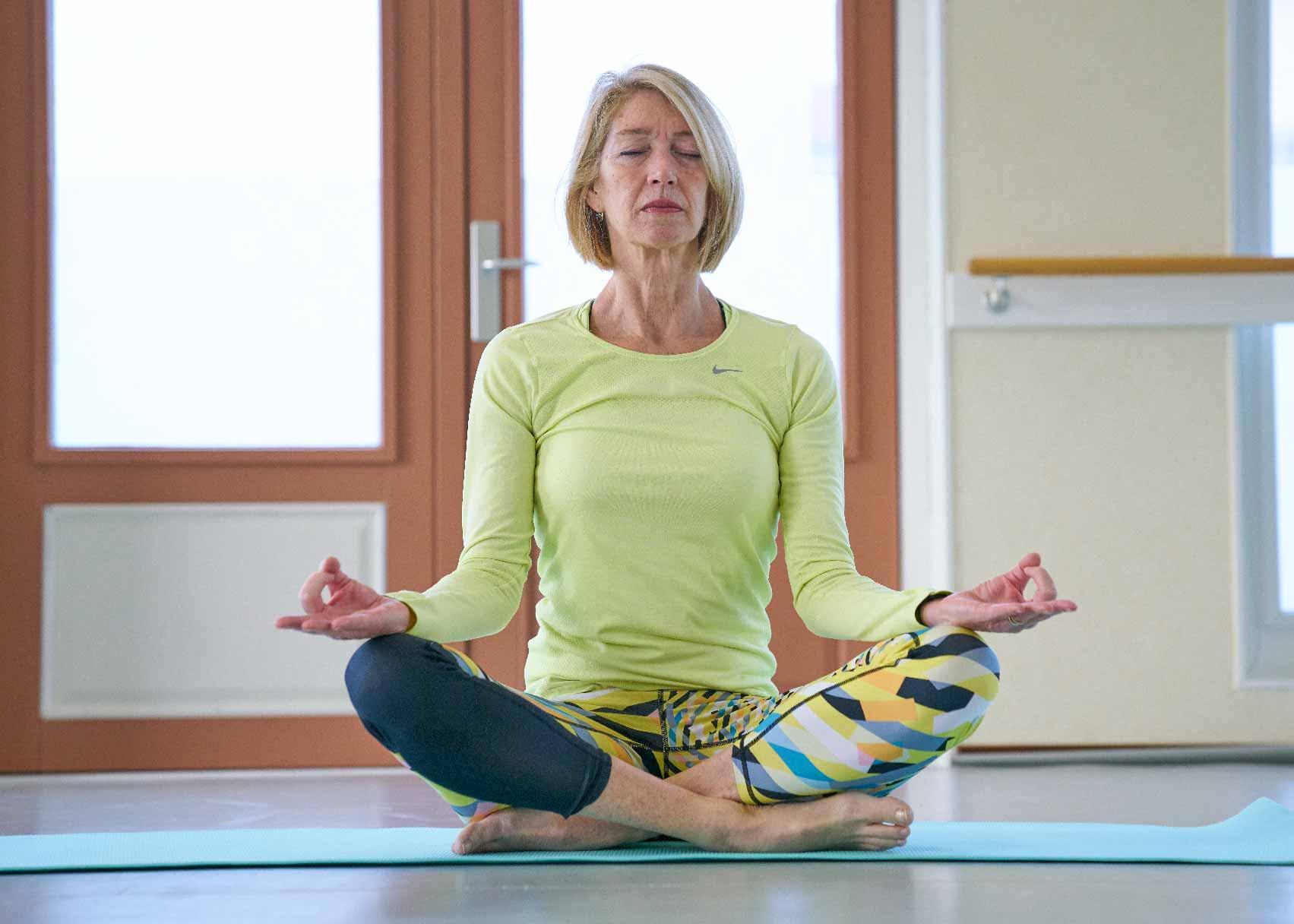Kennismaking Yoga Frits van der Werff Hoorn