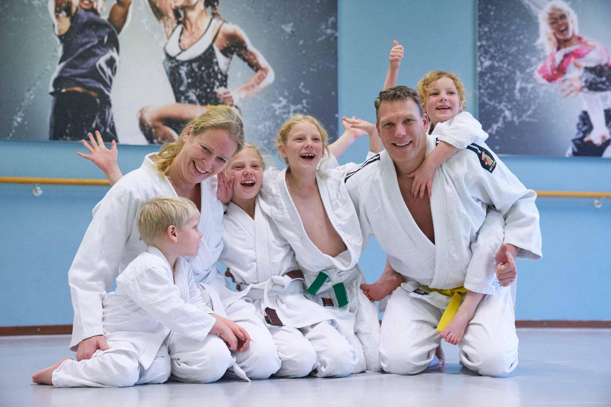 Ouder kind judo frits van der werff