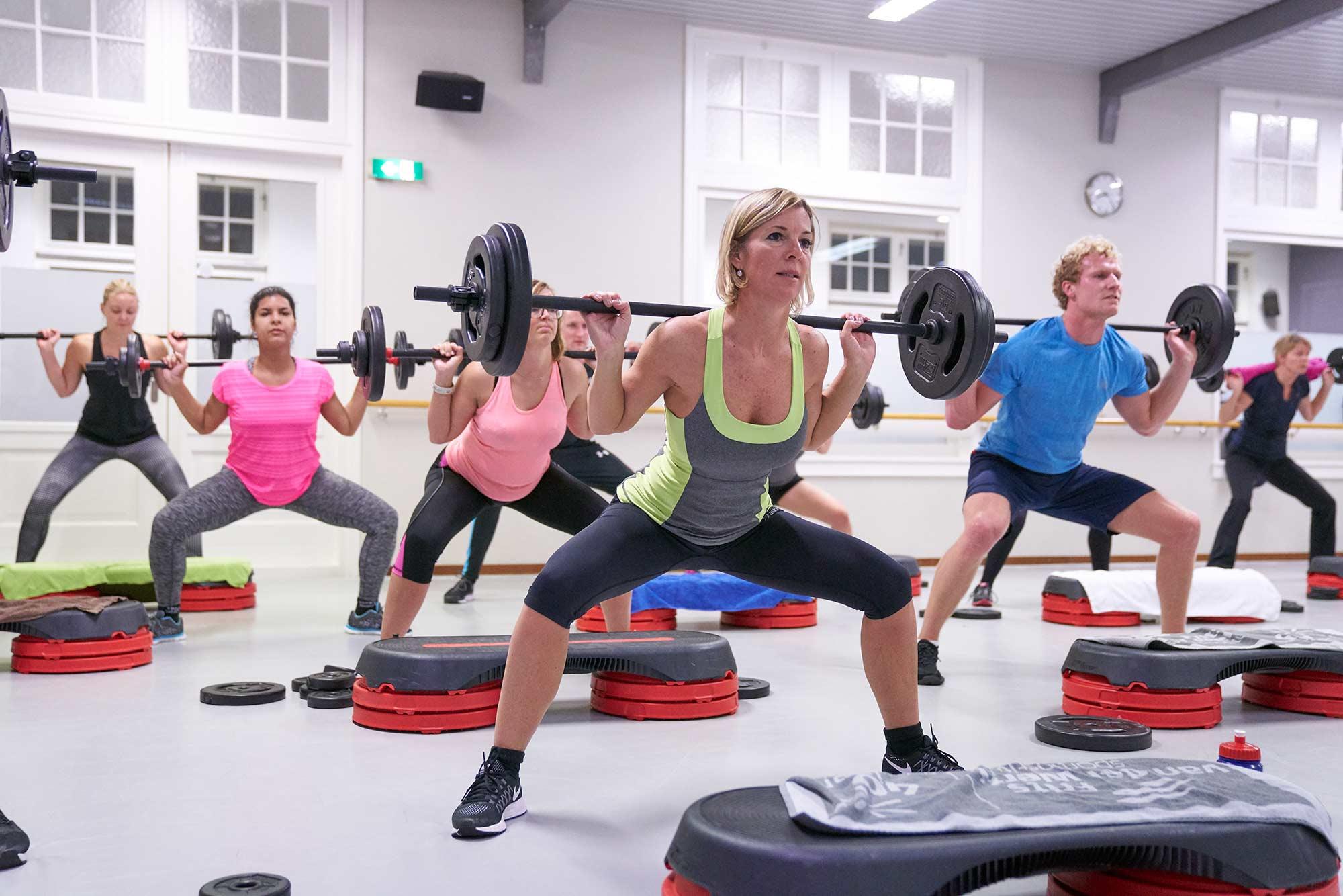 Fitness in Hoorn body-pump-frits-van-der-werff