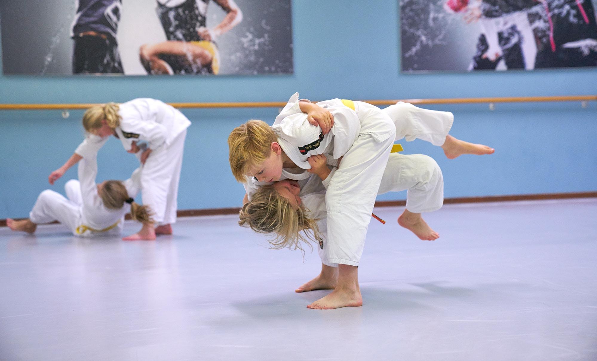 jeugd judo frits van der werff