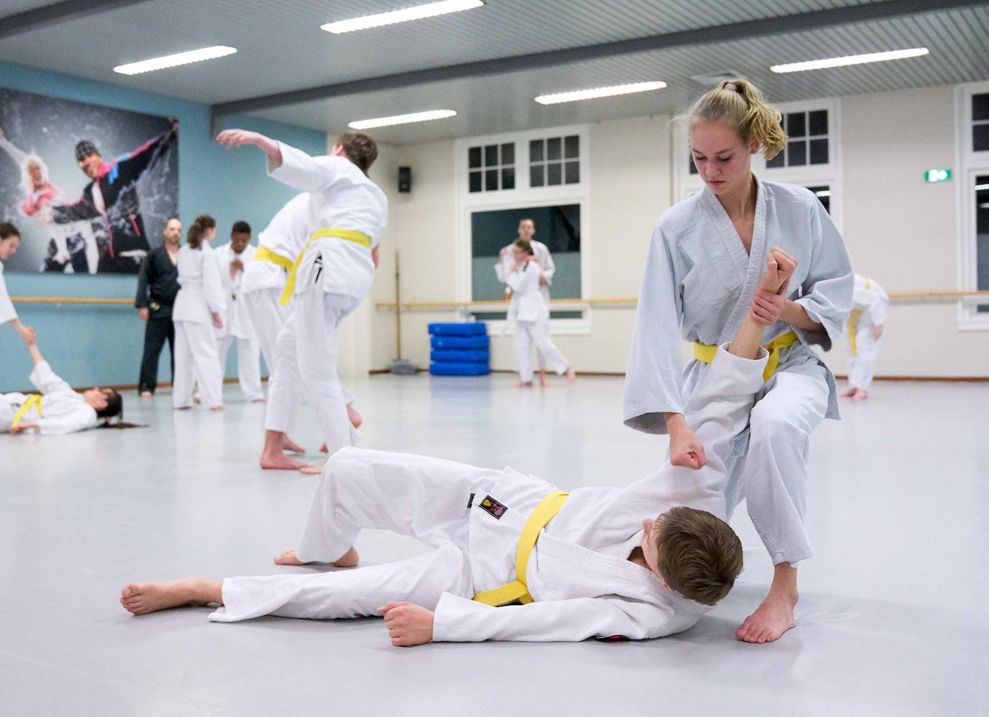 cursus zelfverdediging frist van der werff