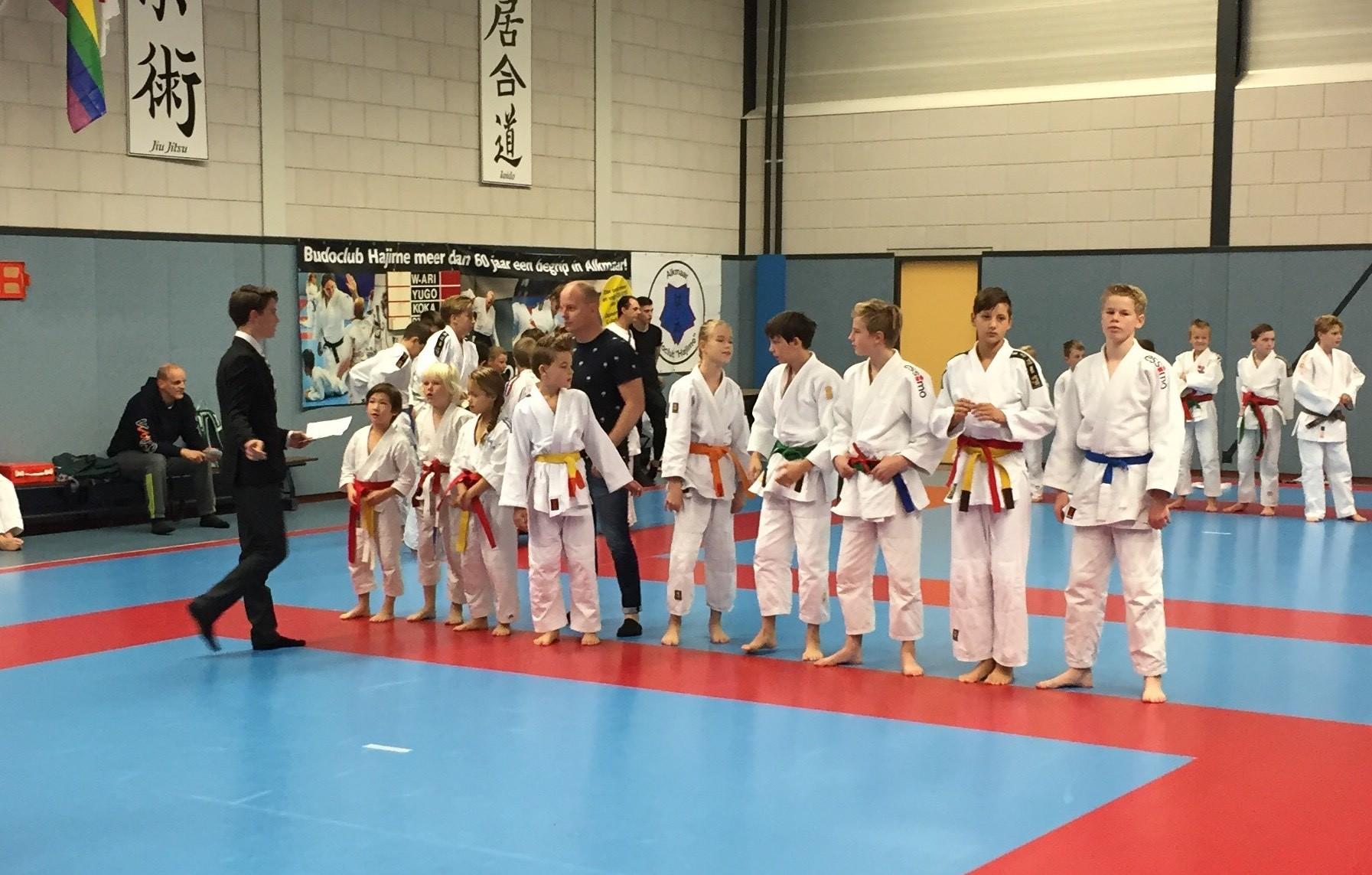 Afbeelding op de pagina jeugd judo hoorn bij Frits van der Werff